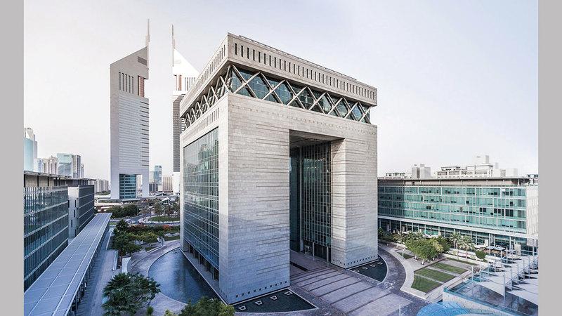 مركز دبي المالي العالمي يوفر بيئة عمل مثالية ومتكاملة.  من المصدر