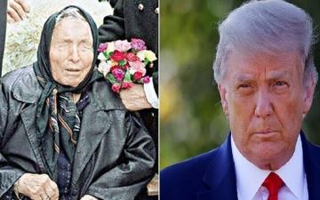 """الصورة: قبل 23 عاماً.. """"عرّافة"""" تنبأت بإصابة الرئيس الأميركي بفيروس خطير يفقده السمع"""