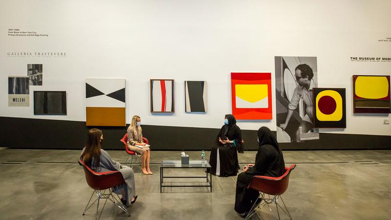 زيارات سموها جزء من السلسلة التي أطلقتها أخيراً بهدف متابعة آخر تطورات القطاعات الإبداعية في دبي. من المصدر