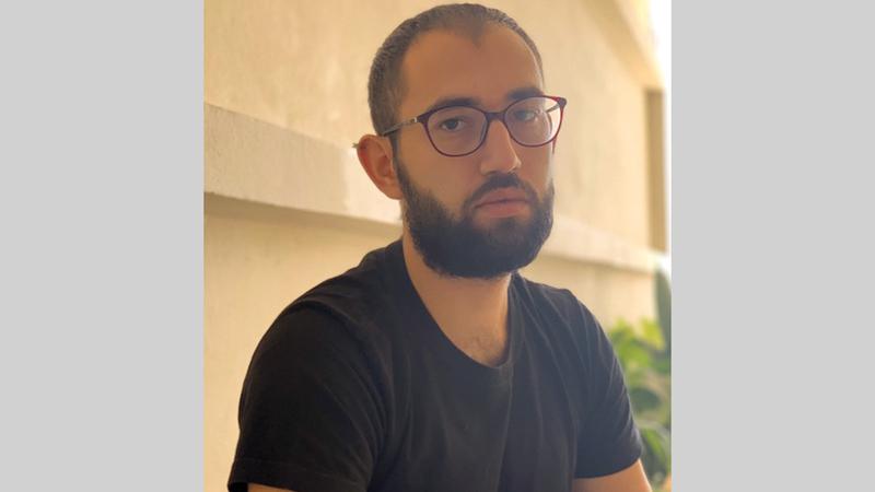 الفنان اللبناني نديم شوفي. من المصدر