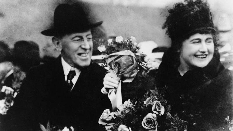 إديث ويلسون تطفلت على بريد واجتماعات زوجها الرئيس طوال فترة مرضه.   أرشيفية