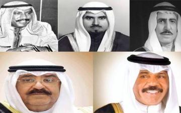 الصورة: من صباح السالم إلى مشعل الأحمد.. 5 أولياء للعهد في كويت ما بعد الاستقلال