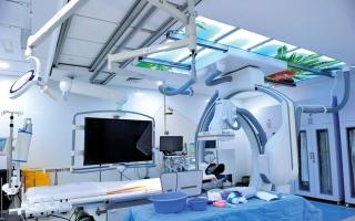 الصورة: إنقاذ 660 مصاباً بانسداد الشرايين في مستشفى راشد العام الجاري