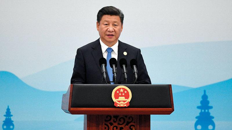 الزعيمان الأميركي والصيني على خلاف دائم غيتي