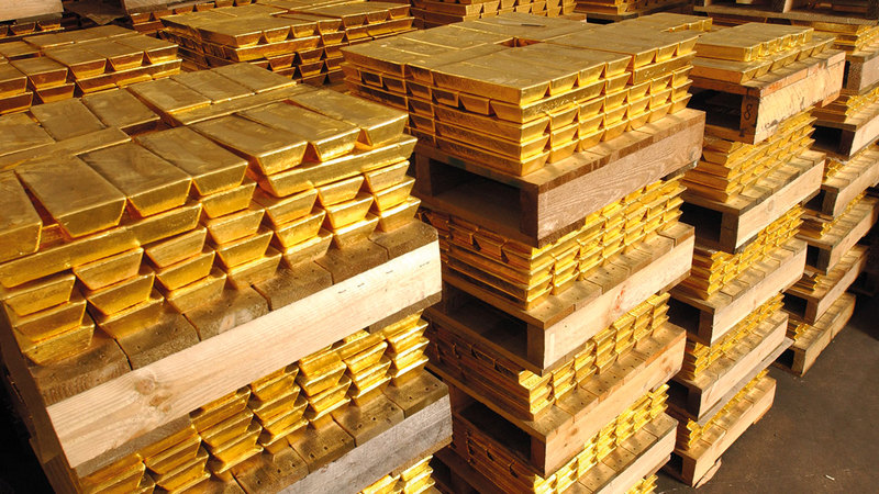 الذهب أحد الملاذات الآمنة للاستثمار. الإمارات اليوم