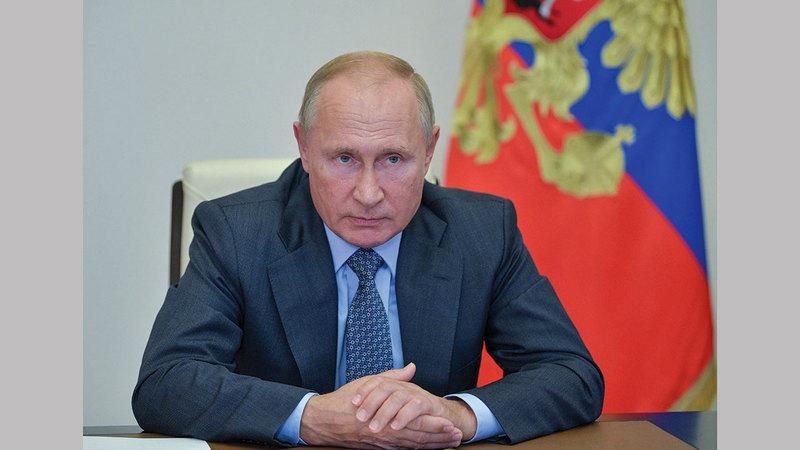 بوتين لم يكن هدف دخوله إلى سورية لحفظ الاستقرار، وإنما لفرض نفسه لاعباً مهماً في المنطقة.   أرشيفية