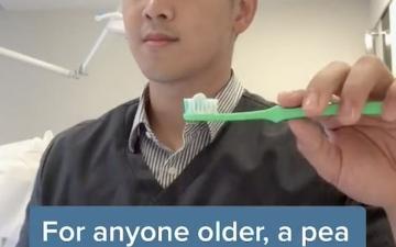 الصورة: طبيب ماليزي: معجون الأسنان يضر إذا استخدم بكميات كبيرة