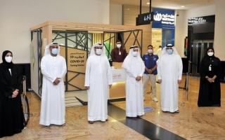 الصورة: «صحة دبي»: فحص «كوفيد-19» في 3 مراكز تجارية