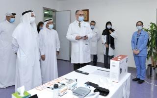 الصورة: نظام ذكي لرعاية مرضى السكري عن بُعد في دبي