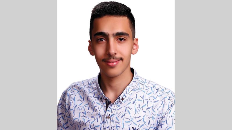 «البطل» عبدالله محمد مراد أبوخلف.  من المصدر