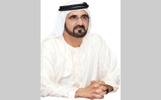 الصورة: محمد بن راشد يعيّن عوض صغير الكتبي مديراً عاماً لهيئة الصحة في دبي