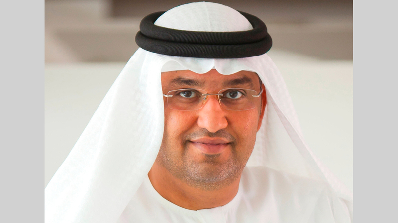 سلطان الجابر:  «من خلال هذه الشراكة، ستسهم (أدنوك) بدور مهم في دعم رفاه المواطنين وسعادة مجتمع الإمارات».