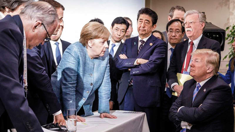 العلاقة بين ألمانيا والولايات المتحدة ساءت بعد قدوم ترامب. من المصدر