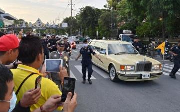 الصورة: توقيف ناشطَين في تايلاند بتهمة «العنف ضد الملكة»
