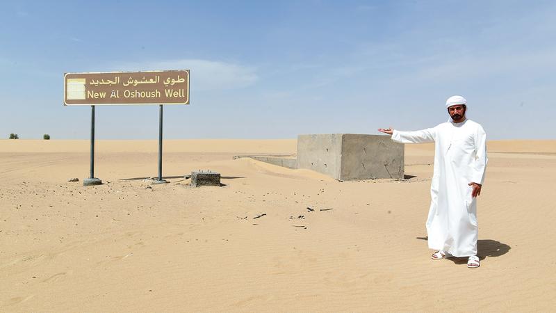 المطيوعي اكتسب خبرته في عالم الصحراء من خلال المعايشة.  تصوير: باتريك كاستيلو