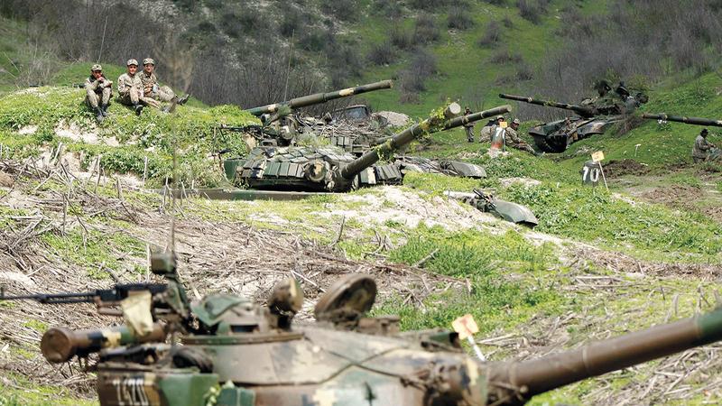 ليس من السهل السماح لأذربيجان تحقيق نصر. رويترز