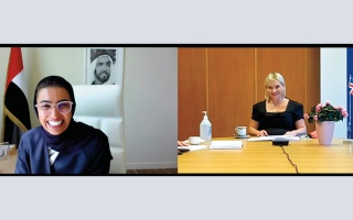 الصورة: الإمارات وآيسلندا تتبادلان الخبرات في الصناعات الثقافية والإبداعية