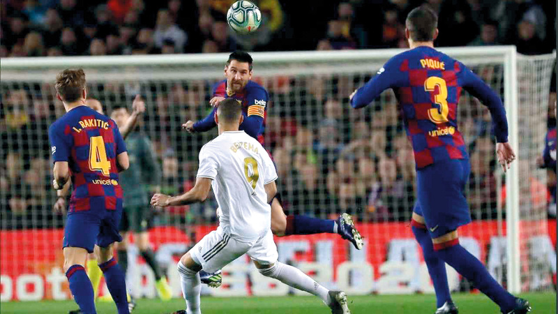 مباراة ريال مدريد وبرشلونة ستقام للمرة الأولى في التاريخ خلف أبواب موصدة. أرشيفية