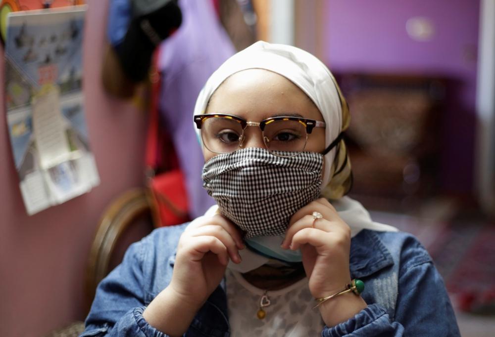 سما محمد (12 عاماً).
