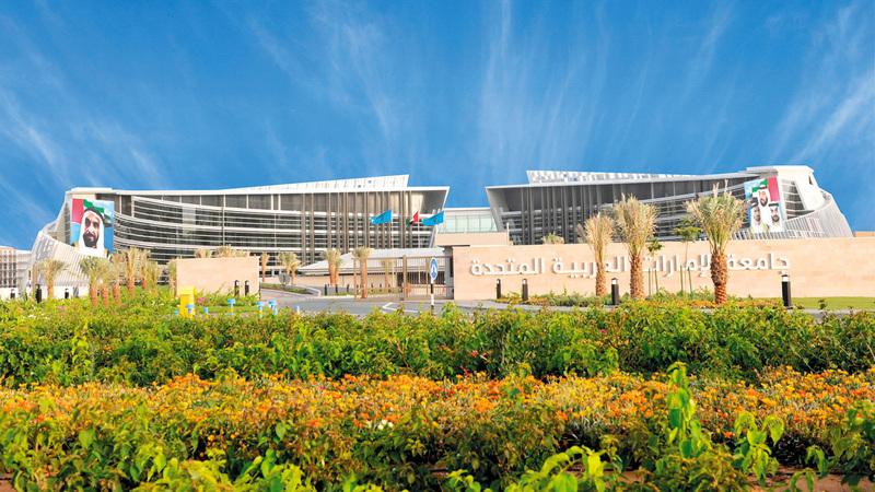 نسيبة اعتبر تعيينه رئيساً لجامعة الإمارات شرفاً ومسؤولية كبيرة يأمل أن يؤديها بقوة وجهد. أرشيفية
