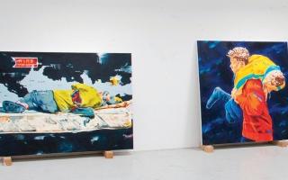الصورة: «يانصيب الفن».. 100 عمل لأجل دعم اللاجئين