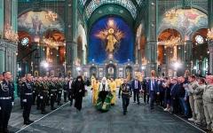 الصورة: كاتدرائية القوات المسلحة الروسية تجسّد الهوية الوطنية الجديدة