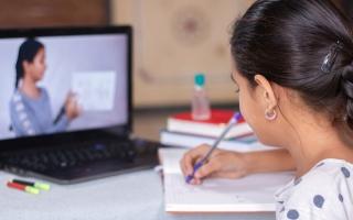 الصورة: في امتحانات الـ «أون لاين».. المعلم يسأل والأهل يجيبون