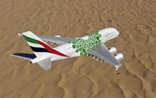 """الصورة: """"طيران الإمارات"""" تزيد رحلات عمّان إلى 10 أسبوعياً"""