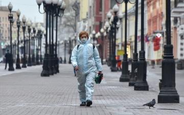 الصورة: روسيا تتجاوز حاجز 25 ألف وفاة بـفيروس «كورونا»