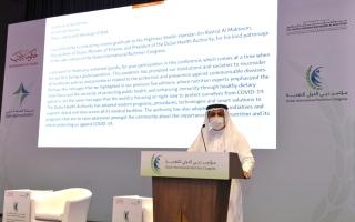 الصورة: «صحة دبي» تدرس تأثير التغذية على المتعافين من «كورونا»