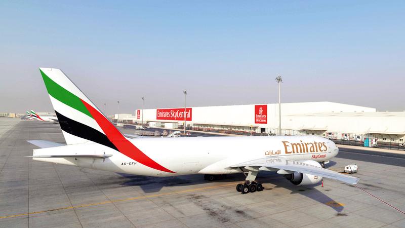 «الإمارات للشحن الجوي» توظف الخبرات التي اكتسبتها على مدى عقود في نقل المنتجات الصيدلانية واللقاحات.  من المصدر