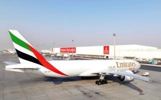 الصورة: «الإمارات للشحن الجوي» تستعد لتوزيع لقاح «كوفيد-19» عالمياً