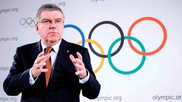 صورة باخ يرفض استبعاد أي دولة من أولمبياد طوكيو بسبب «كورونا» – رياضة – عربية ودولية