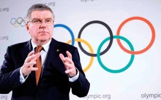 الصورة: باخ يرفض استبعاد أي دولة من أولمبياد طوكيو بسبب «كورونا»