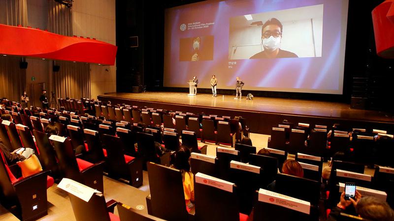 درجت بوسان على استقبال العديد من نجوم السينما والعاملين في مجال الفن السابع. أ.ف.ب