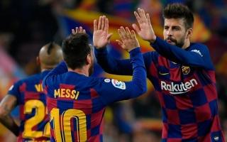 الصورة: بيكيه: الملعب الجديد لبرشلونة يجب أن يحمل اسم ميسي