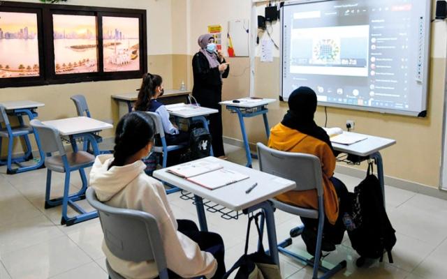 الصورة: «الشارقة للتعليم» ترصد مخالفات للإجراءات الاحترازية في مدارس خاصة