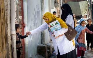 الصورة: عبدالله الغفلي: الإمارات مركز رئيس لمراقبة الأوبئة المعدية