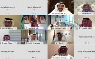 الصورة: وزراء الاقتصاد يبحثون سبل تنمية الشراكة الإماراتية السعودية