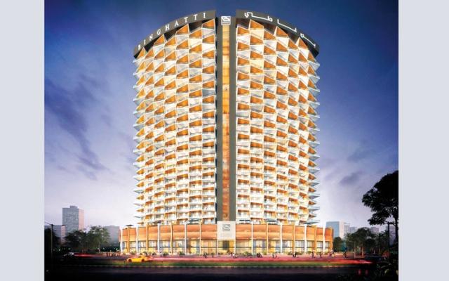 الصورة: مشروع تحت الإنجاز.. «بن غاطي أفينيو».. اللون البرتقالي يتألق في «الجدّاف»