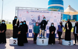 ختام بطولة أبوظبي لصيد الأسماك بمشاركة 150 متسابقة