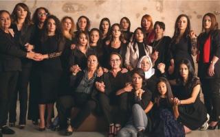 الصورة: ممثلات جزائريات: متحدات لمناهضة العنف ضد النساء