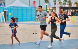 الصورة: تحدي دبي للجري.. المدينة بكاملها ميدان رياضي