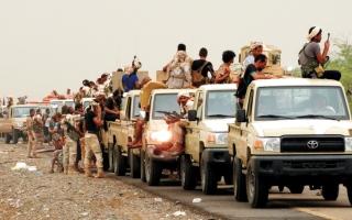 الصورة: الجيش اليمني يحرّر مواقع بالجوف ويصدّ هجمات حوثية في صنعاء ومأرب
