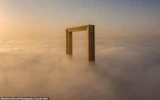 الصورة: الصور الفائزة بجائزة التصوير الجوي 2020