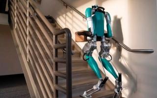الصورة: روبوت بلا رأس لحمل الصناديق وتفقّد أماكن العمل الخطرة