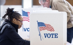 الصورة: دراسة: نسبة الاقتراع المبكر أعلى مما كانت عليه في 2016