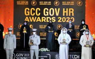 الصورة: «صحة دبي» تفوز بجائزة أفضل استراتيجية للتعلّم والتطوير