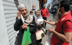 الصورة: تونس تسجل حصيلة قياسية للإصابات اليومية بـ «كورونا»