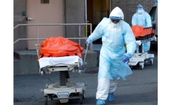 الصورة: الولايات المتحدة تسجل 63195 إصابة جديدة بـ«كورونا»